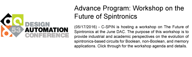 DAC Future of Spintronics Workshop